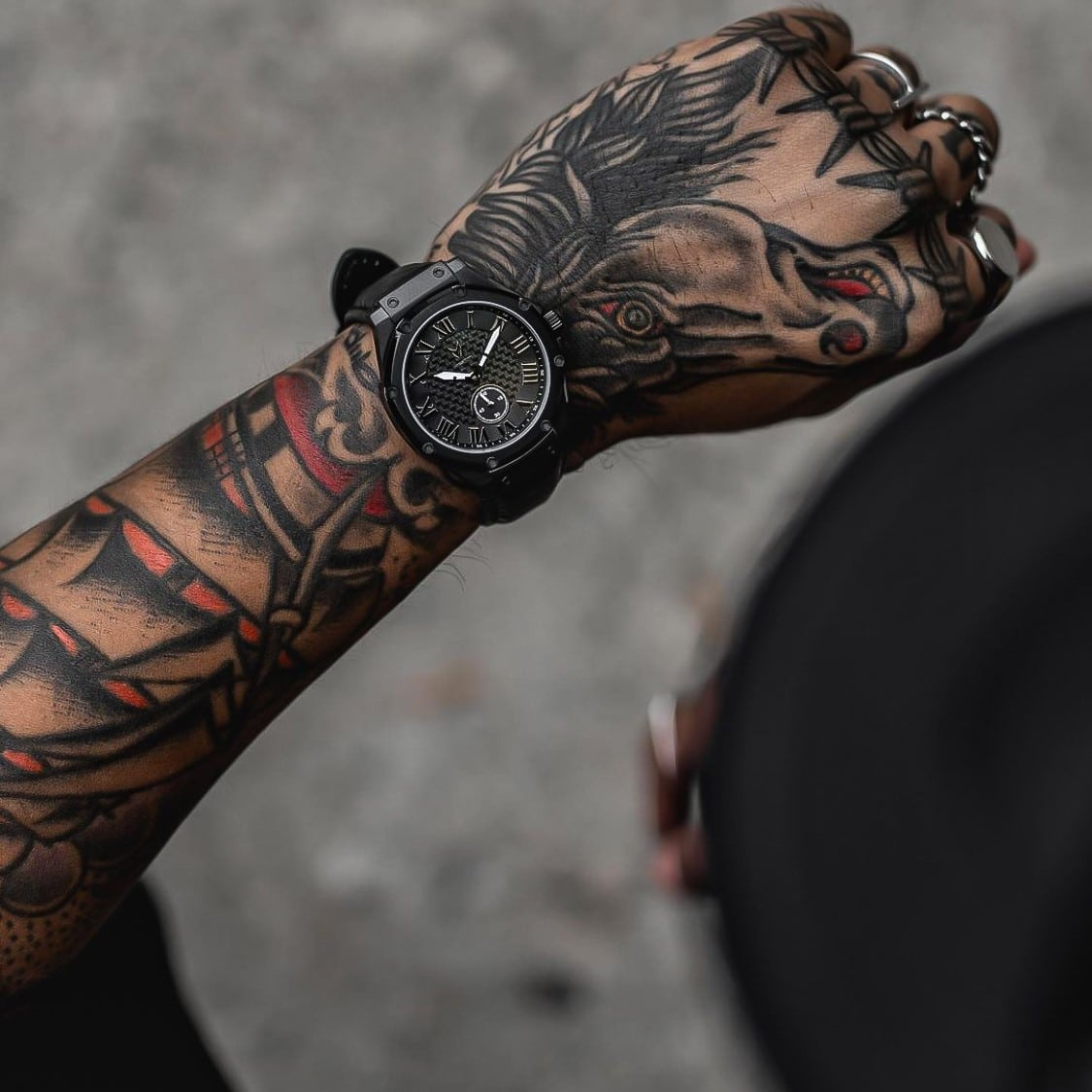 Carbon Black - Leather