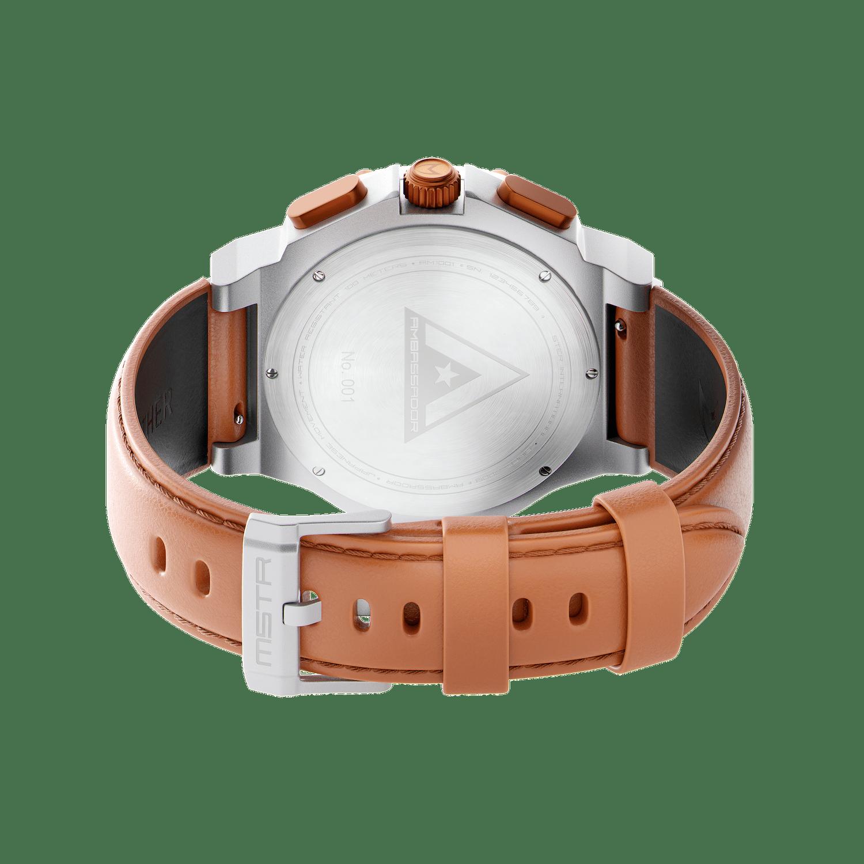 Silver & Copper - Leather