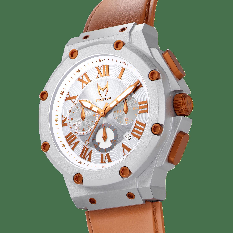 Silver & Copper – Leather
