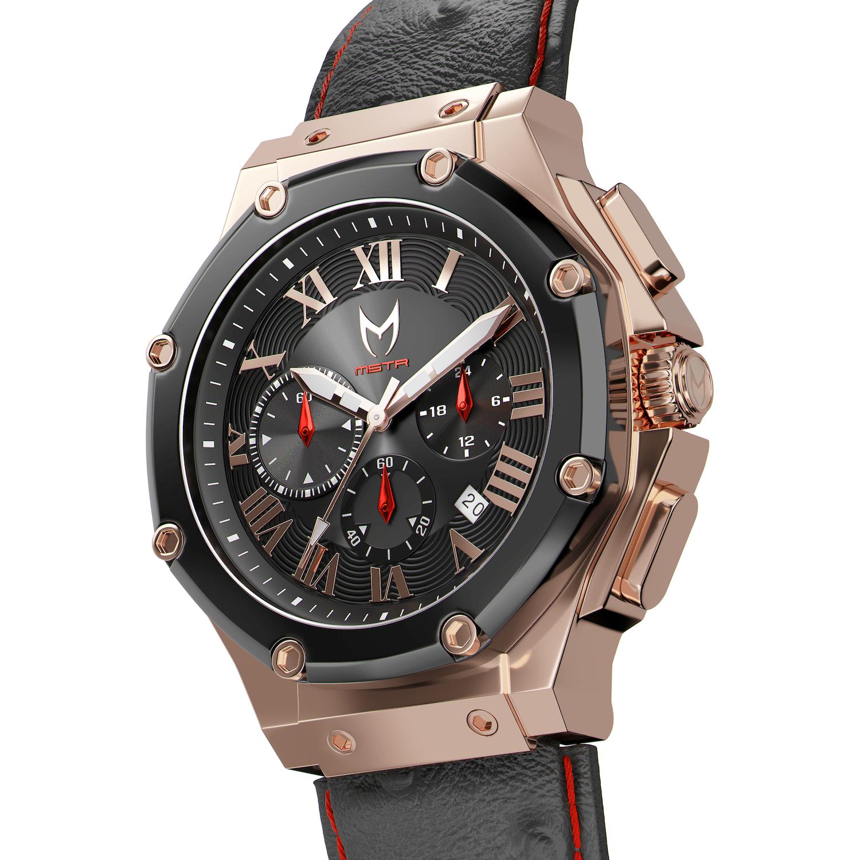 Rose Gold & Black – Leather