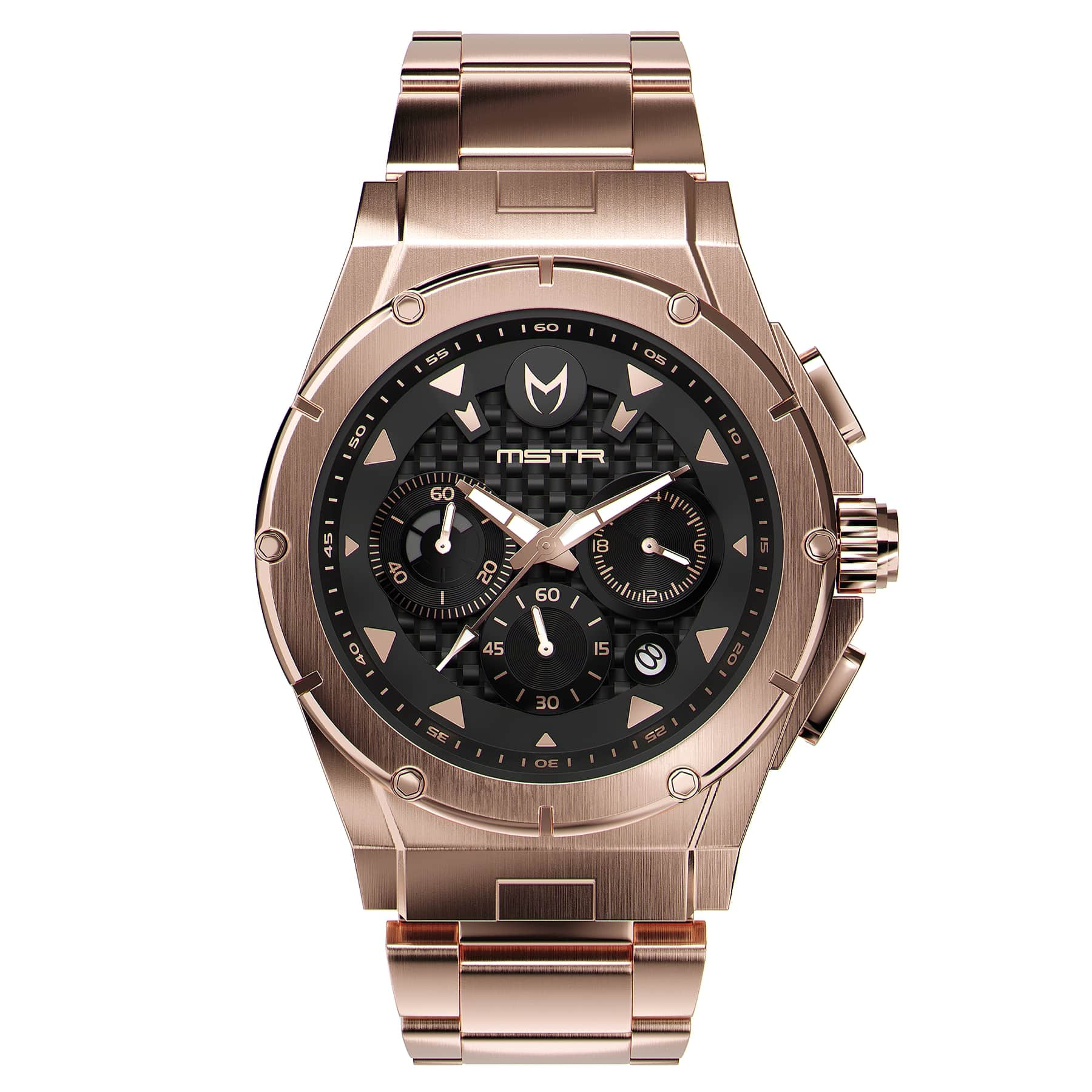 Rose Gold – Stainless Steel Band