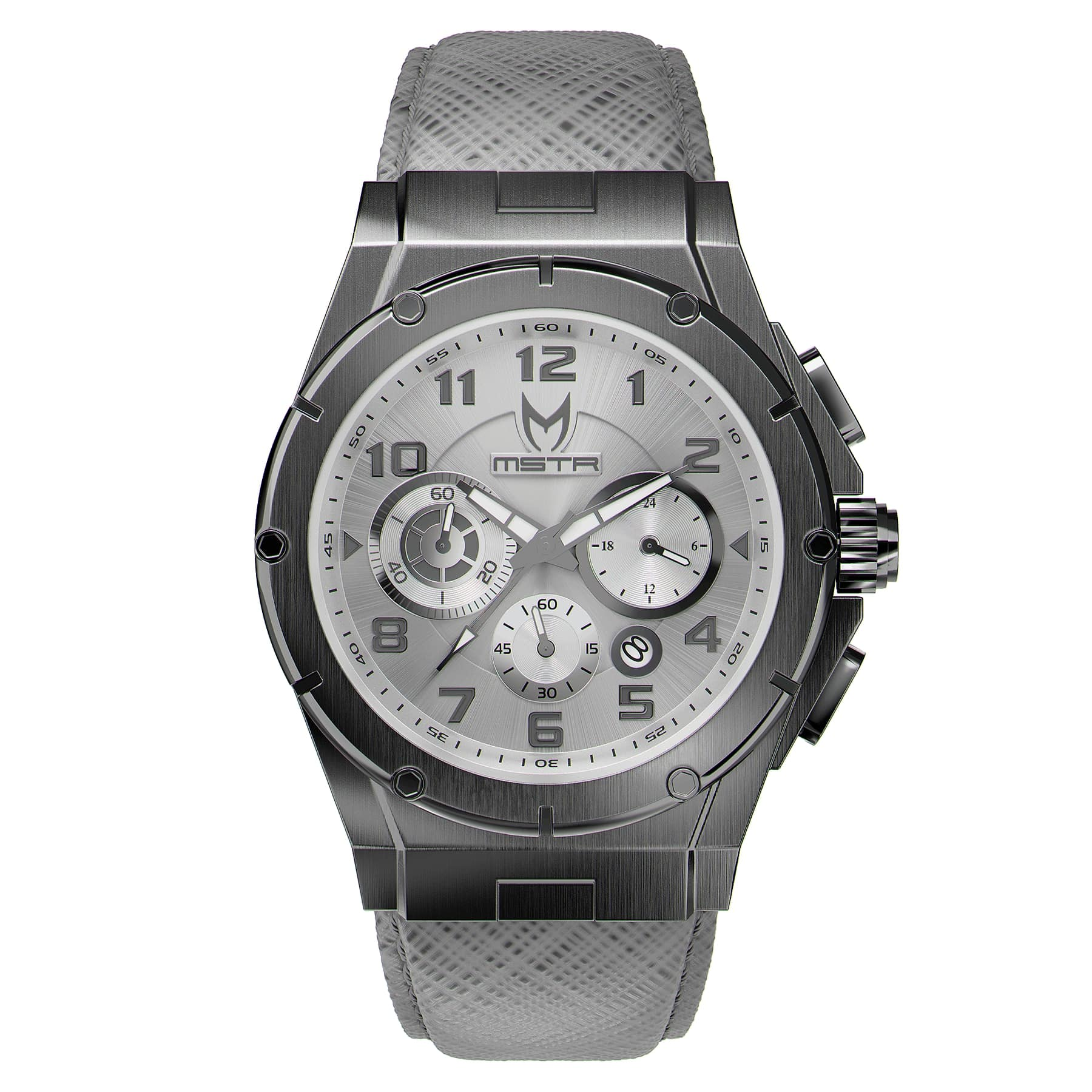 Titanium Grey – Leather