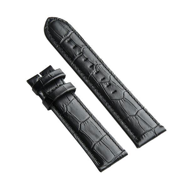 Crocodile - Black Leather