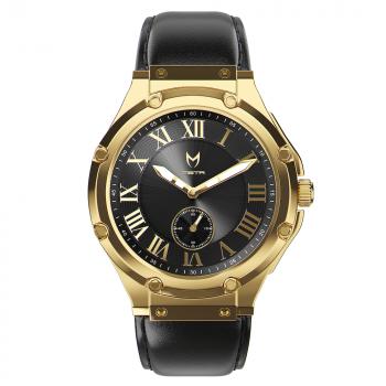 Gold & Black - Leather