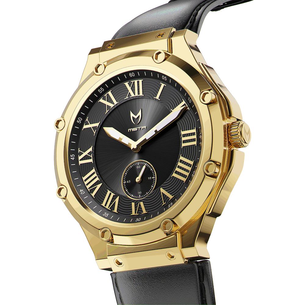 Gold & Black – Leather