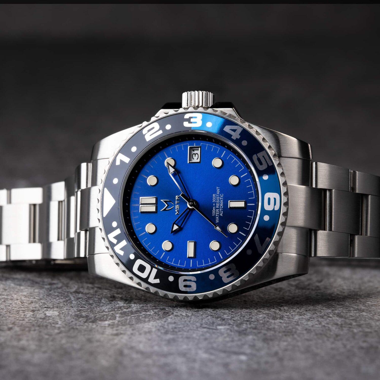 Automatic - Blue & Black