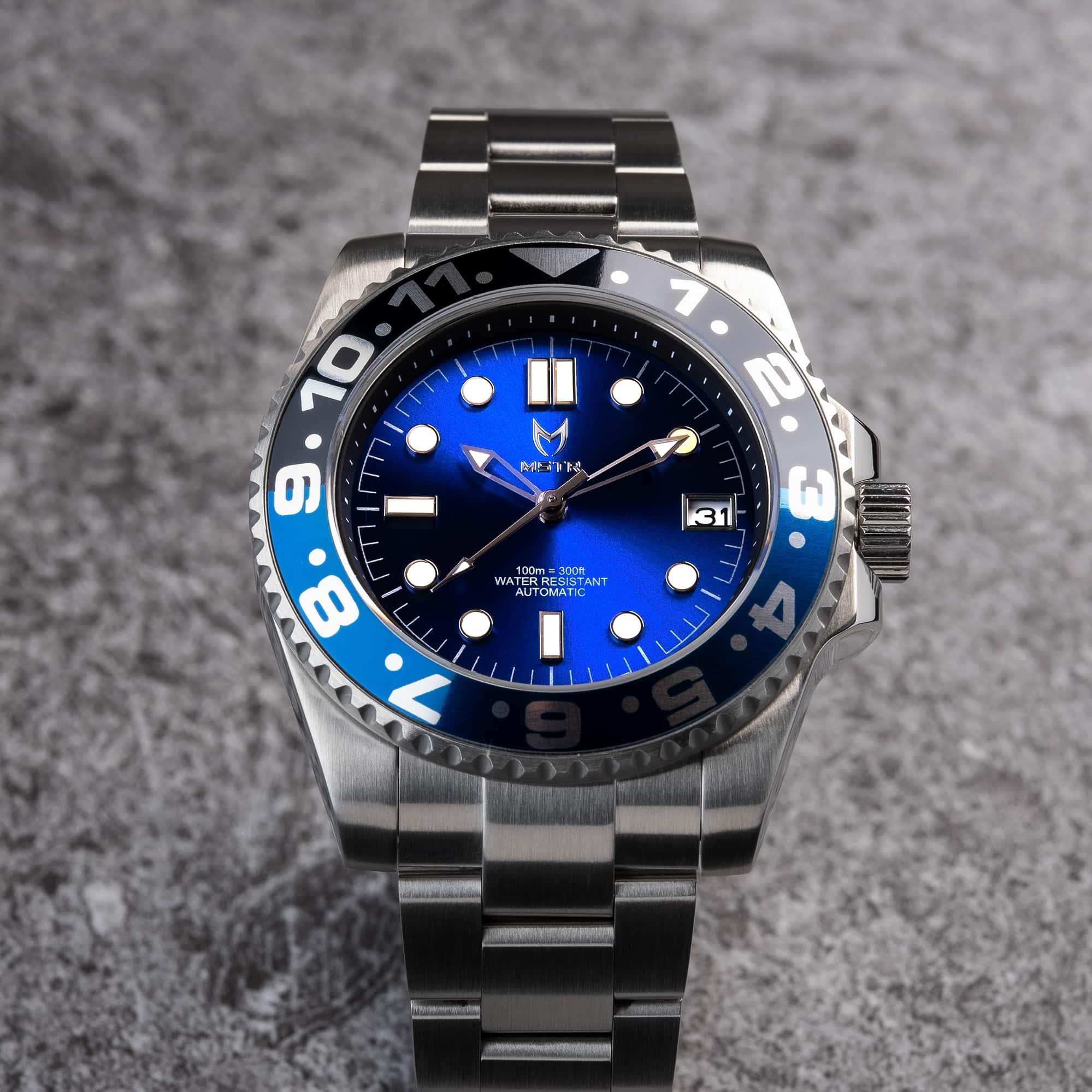 Automatic – Blue & Black