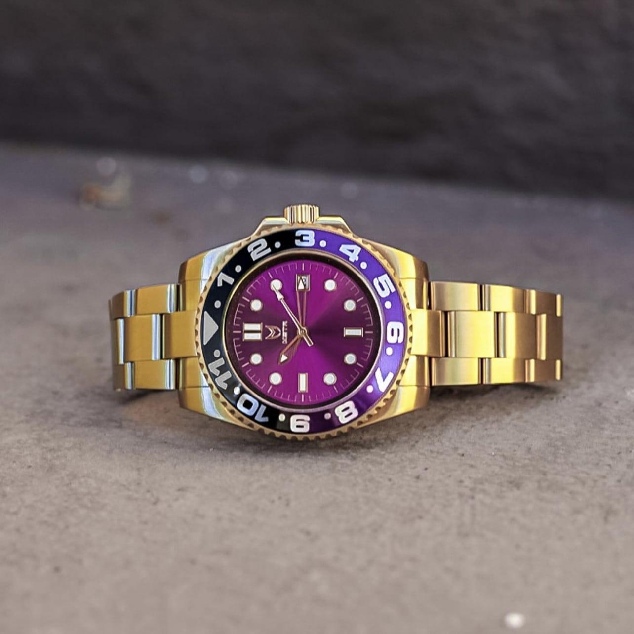 Gold & Purple