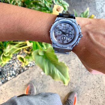 Titanium Grey - Leather
