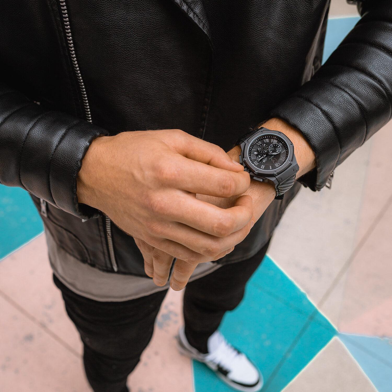 Black - Leather